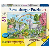 Ravensburger 24 Piece Floor Puzzle Prancing Unicorns