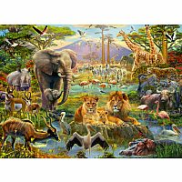Ravensburger 200 Piece Puzzle Animals Of Savanna