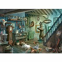 Ravensburger 759 Piece Escape Puzzle Forbidden Basement
