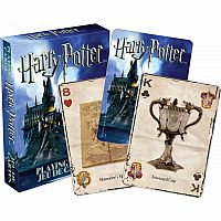 NMR HARRY POTTER PLAYING CARDS