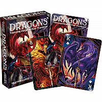 NMR DRAGONS PLAYING CARDS