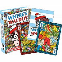 NMR WHERE'S WALDO PLAYING CARDS