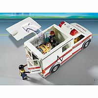 PLAYMOBIL CITY ACTION AMBULANCE RESCUE