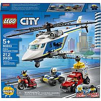 Lego City Helicopter Chase