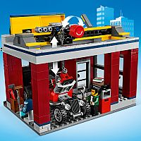 Lego City Tuning Workshop