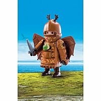PLAYMOBIL DRAGONS FISHLEGS WITH FLIGHT SUIT