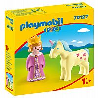 PLAYMOBIL 123 PRINCESS WITH UNICORN