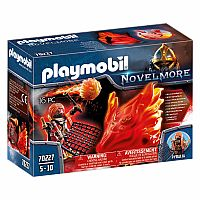PLAYMOBIL NOVELMORE FIRE GUARDIAN WITH GHOST