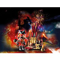 PLAYMOBIL NOVELMORE FIRE MASTER WITH CANON