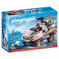 PLAYMOBIL CITY ACTION AMPHIBIOUS TRUCK