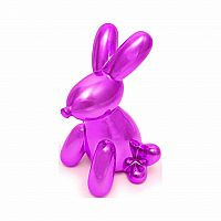 Balloon Bunny Bank - Pink