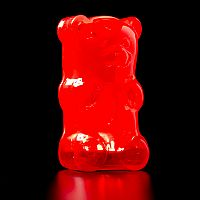 Gummy Lamp Night Light - Red