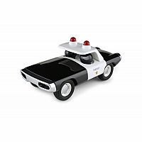 Sheriff Car - Black and White