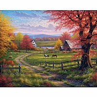 White Mountain Puzzles Peace Tranquility 1000 Piece Puzzle