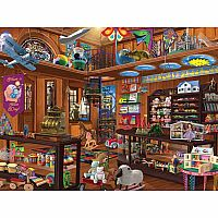White Mountain Puzzles Toy Shop 1000 Piece Puzzle